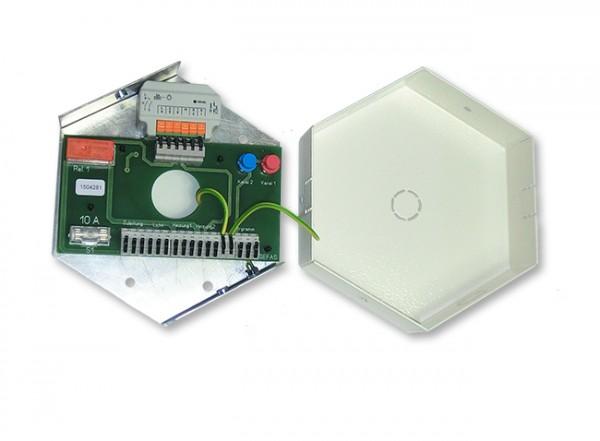 Funk Licht- und Heizungsverteiler OS im geöffneten Zustand