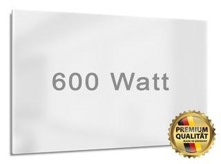 600 Watt Infrarotheizung für Räume bis zu 14 m²