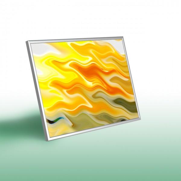Glas-Bildheizung Nomix Dekor - Infrarotheizung mit Rahmen