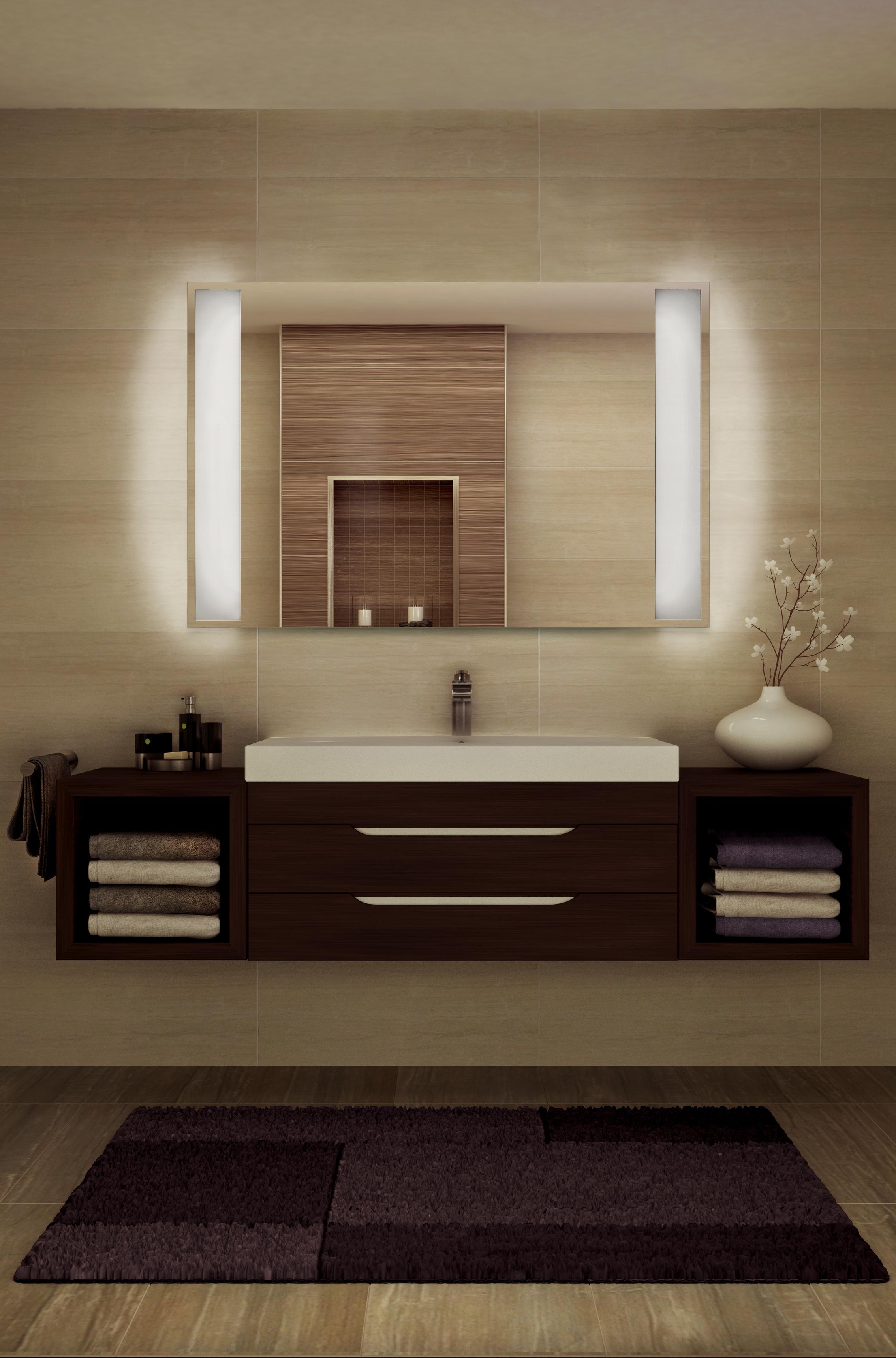 infrarotheizungen sorgen unbeschlagene spiegel effektiv g nstig und modern heizen. Black Bedroom Furniture Sets. Home Design Ideas