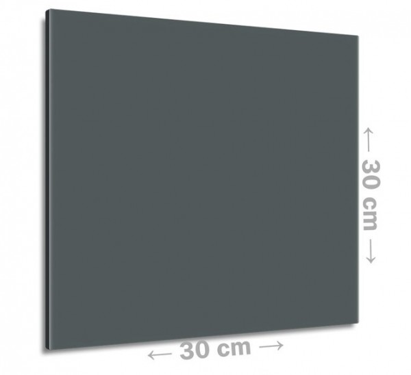 Graues 30x30 cm - Heizelement mit 100 Watt