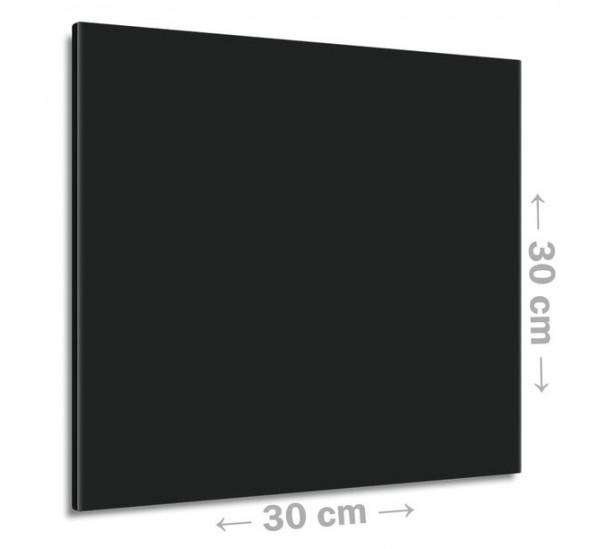 Klassische Infrarotheizung von Eco-Heat in schwarz