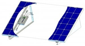 Mini Solaranlage als Einzelmodul