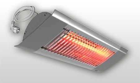 Infrarotstrahler bzw. Halogenstrahler IHF mit 1000 Watt