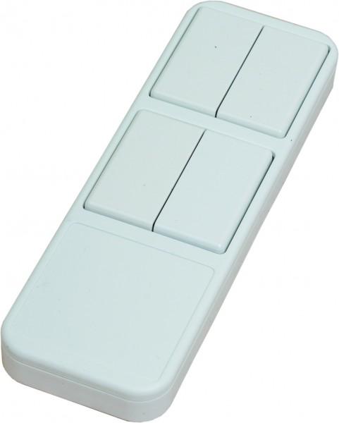 4-Wege Handsender - in der Farbe weiß erhältlich