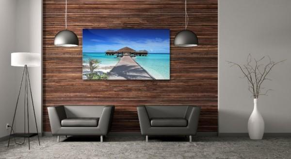Bildheizung im Wohnzimmer