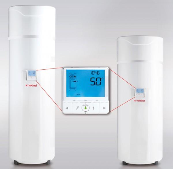 Wärmepumpe für 200 Liter mit Display