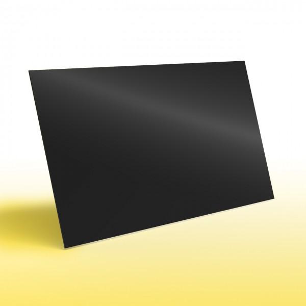 infrarotheizung nomix glas black 400 watt glasheizung ohne rahmen effektiv g nstig und. Black Bedroom Furniture Sets. Home Design Ideas