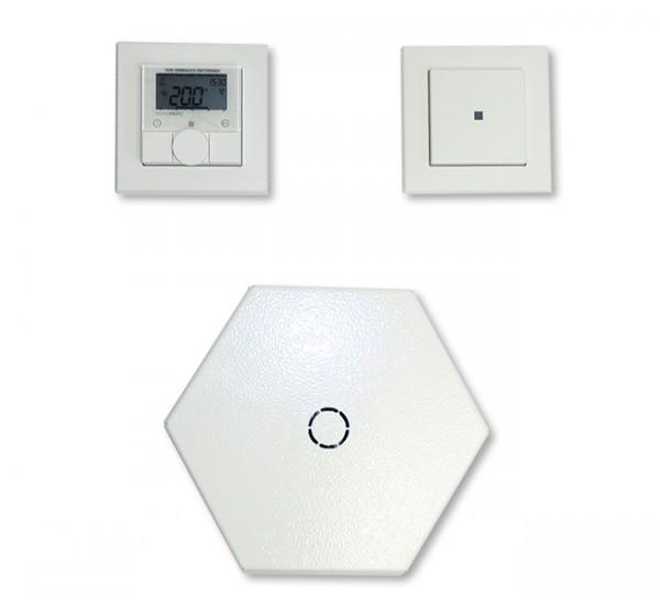 Funk Licht- und Heizungsverteiler MS für Deckenmontage