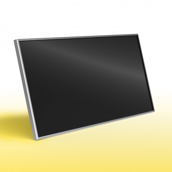 Knebel Infrarotheizung als hitzebeständige Glasheizung in schwarz