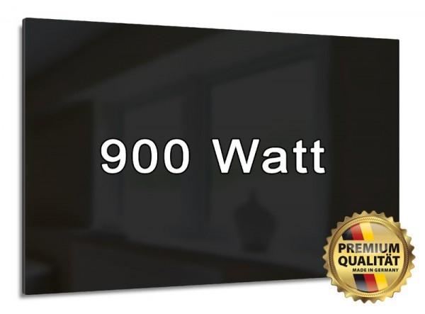 Mit 900 Watt heizen Sie mittlere und größere Räume.