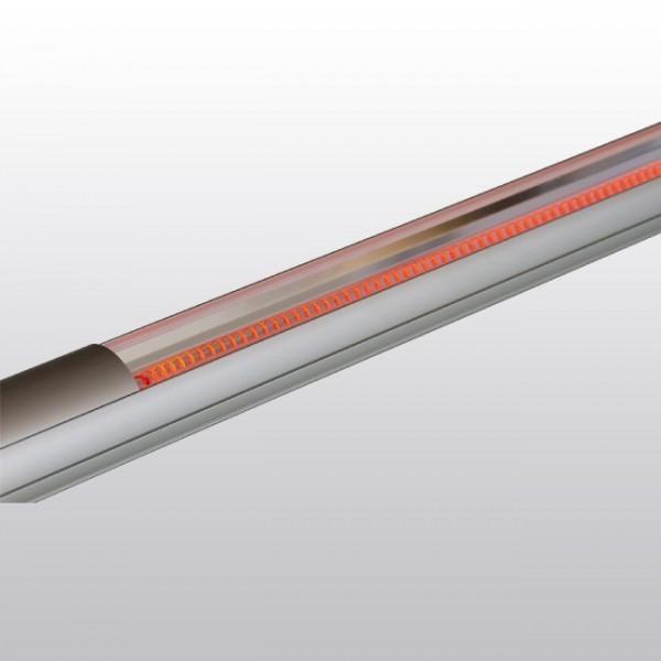 Infrarotstrahler Heat Tube mit 900 Watt Leistung