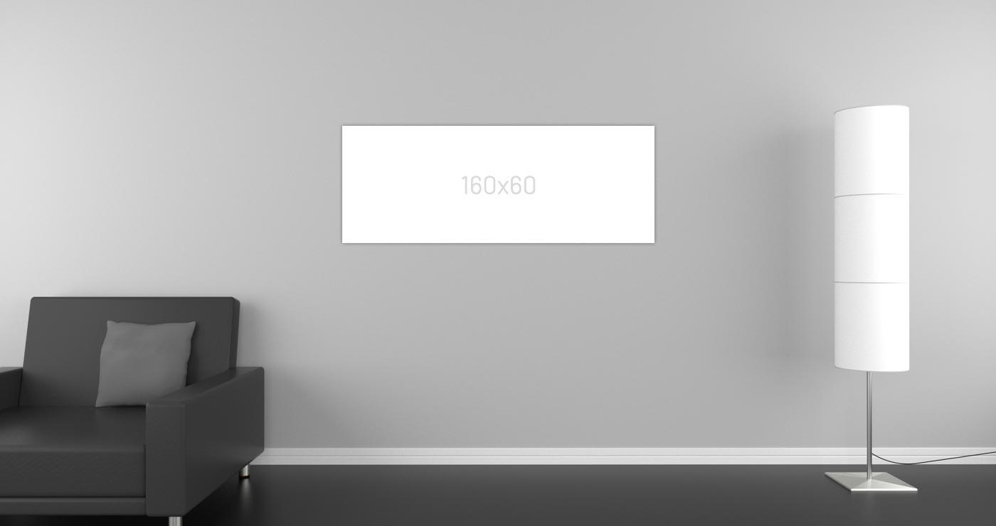 Spiegelheizung, 160 x 60 cm, 18 bis 30 m², Diegel Heat