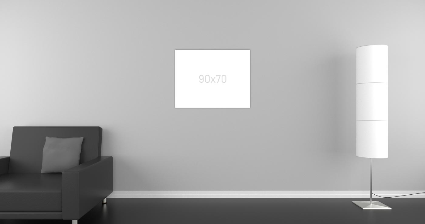 Infrarotheizung 90 x 70 cm