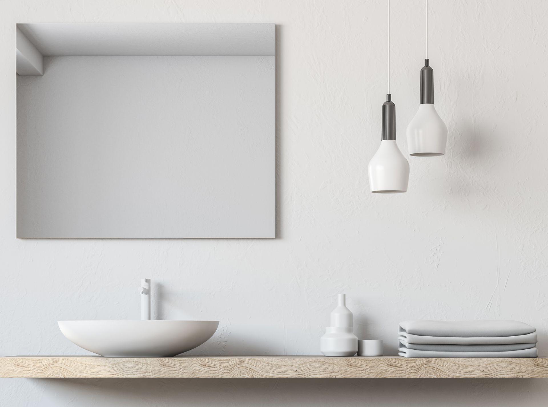 Spiegelheizung Nomix Mirror ohne Rhamen Anwendungsbeispiel 3