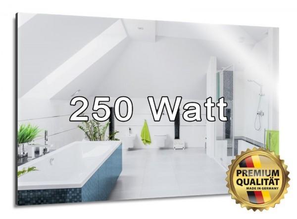 Spiegelheizung mit 250 Watt