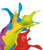 Wandfarben als Muster
