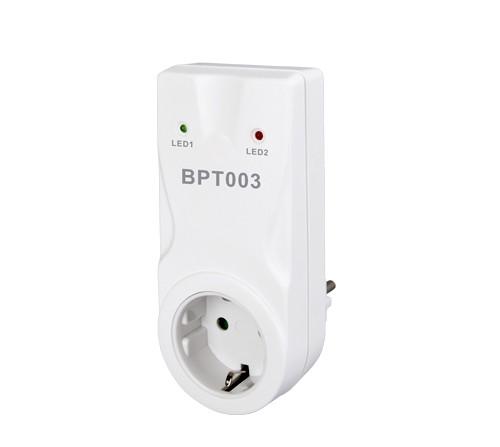 Wird einfach nur in die Steckdose gesteckt - der BPT003 Steckdosenempfänger