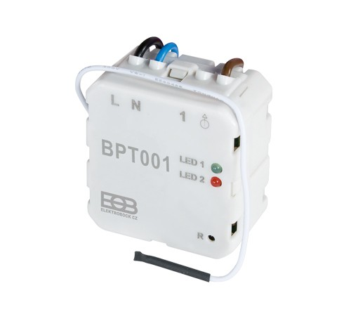 Unterputz-Empfänger zur Schaltung von Heizungsanlagen bzw. Infrarotheizungen