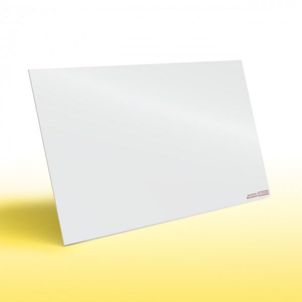 Infrarotheizung Nomix White - Glasheizung in weiß ohne Rahmen von Knebel Infrarot-Flachheizungen