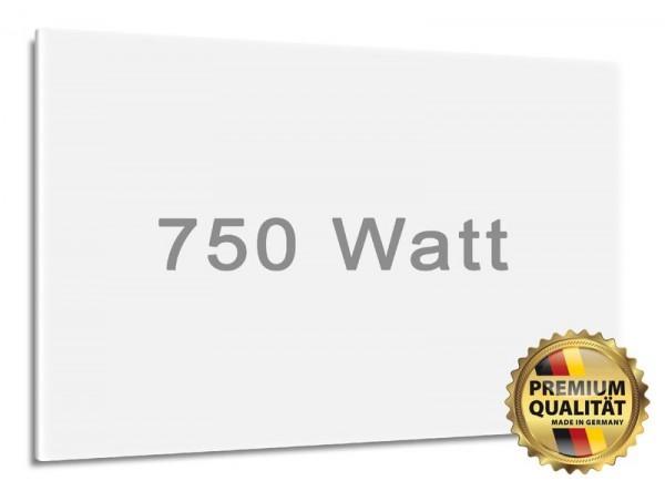 750 Watt Digel-Heat Infrarotheizung matt-weiß lackiert