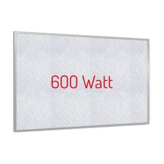 Infrarotheizung PowerSun Reflex - 600 Watt | 60x90cm | Rahmen, weiß, mineralisiert