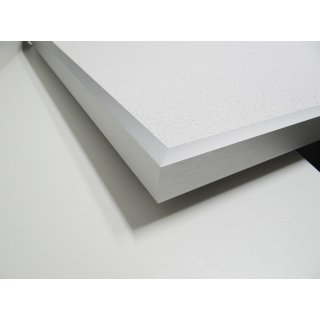 Infrarotheizung PowerSun Reflex - 600 Watt | 50x100 cm | Rahmen, weiß, mineralisiert