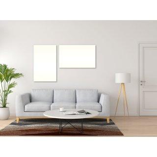 Infrarotheizung PowerSun Reflex - 300 Watt   62x62 cm   weiß, glatt