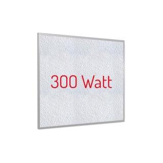 Infrarotheizung PowerSun Reflex - 300 Watt | 62x62cm | Rahmen, weiß, mineralisiert