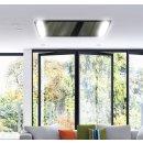 LED Infrarotheizung PowerSun Carboglas - 800 Watt | 60x140 cm | schwarz