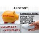 ANGEBOT: Infrarotheizung PowerSun Reflex - 600 Watt |...