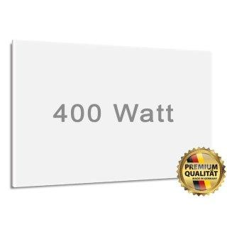 Infrarotheizung 400 Watt - matt/weiss | 60 x 60 cm | 4-9 m²