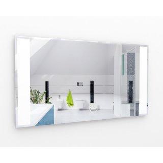 LED Spiegel-Infrarotheizung 700 Watt | 60x140cm | Rahmenlos