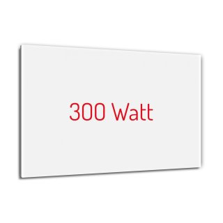 Infrarotheizung PowerSun Reflex - 300 Watt | 40x60cm | weiß, glatt