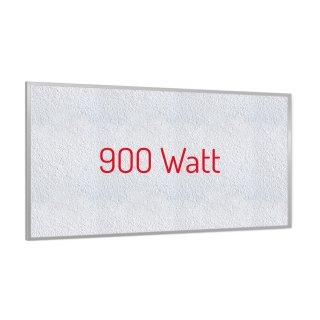 Infrarotheizung PowerSun Reflex - 900 Watt | 60x120cm | Rahmen, weiß, mineralisiert