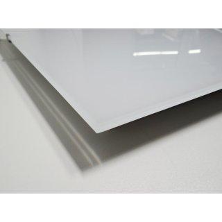 Infrarotheizung Nomix Glas White - 400 Watt | 60x70 cm | Glasheizung ohne Rahmen