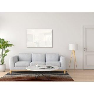 Infrarotheizung Nomix Glas White - 500 Watt | 40x130cm | Glasheizung ohne Rahmen