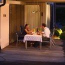 Heat & LED Set – Infrarotstrahler + Funkempfänger und Lichtquelle
