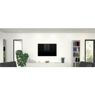 Infrarotheizung Black Glass 750 Watt | 90 x 70 cm | 11-18 m²