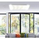 LED Infrarotheizung PowerSun Carboglas - 500 Watt | 60x110 cm | weiß