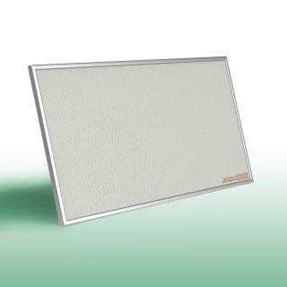 Infrarotheizung PowerSun Reflex - 300 Watt | 60x90xcm | Rahmen, weiß, mineralisiert