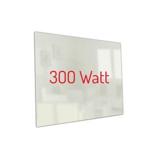 Infrarotheizung PowerSun Carboglas - 300 Watt | 60x60 cm | weiß