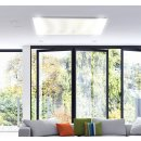 LED Infrarotheizung PowerSun Carboglas - 800 Watt | 60x140 cm | weiß