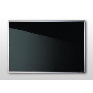 Infrarotheizung Nomix Glas Black - 250 Watt | 35x90cm | Glasheizung mit Rahmen