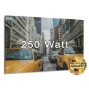 Bild Infrarotheizung 250 Watt | rahmenlos | 60 x 30 cm | 3-6 m²