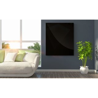 Infrarotheizung Black Glass 540 Watt | 80x60 cm | 7-13 m²