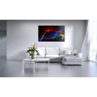 Glas-Bildheizung Nomix - 900 Watt | entspiegelt | 60x140cm | Infrarotheizung ohne Rahmen